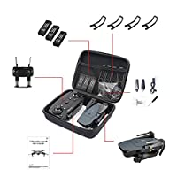 Ocamo Quadcopter Storage Bag,Foldable Arm RC FPV Drone Handbag Carrying Case Box Bag for E58/JY018/JY019/GW58/X6/E010/E010S/E013/E50