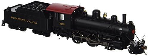 BachFemmen Industries Alco 2-6-0 DCC Ready Locomotive - PRR PRR PRR 3237 - (1:87 HO Scale) b344a5