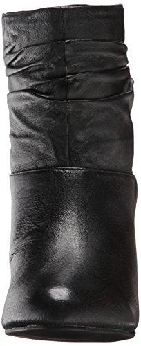 Chinese Laundry U Bet Rund Nappa-Leder Mode-Stiefeletten Black