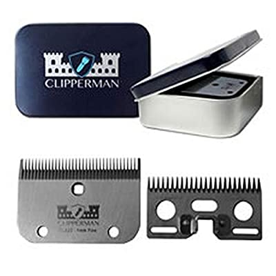 Clipperman CLA22 High Quality Steel Blade Set from Clipperman