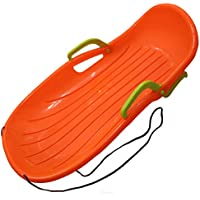 Zywtrade Resistencia Al Desgaste Portátil Doble Estándar De Snowboard Divertido Divertido Al Aire Libre Doble Niños Adultos Plásticos Esquís De Nieve,Orange