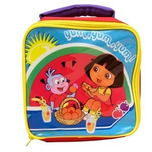 Ready Steady Bed® Dora The Explorer Kid's Soft Insulated Lunch Bag