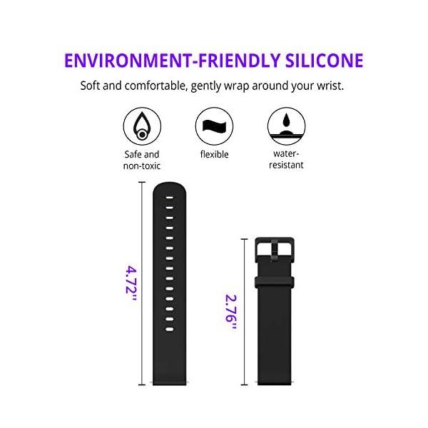 Fitpolo Pulsera de Actividad Inteligente Impermeable IP67,Pulsómetro Mujer Hombre, Monitor de Actividad Deportiva, Reloj Fitness, Podómetro,Contador de Calorias,Compatible con iPhone Android Samsung … 4
