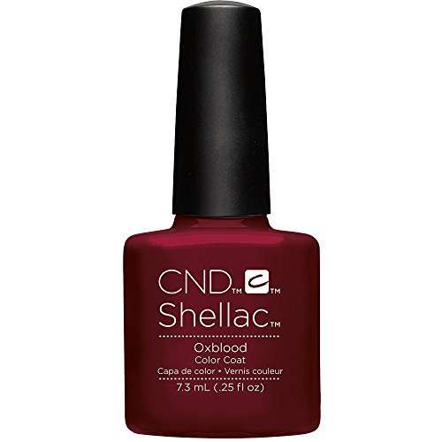 CND Shellac Smalti Semipermanente Oxblood per Unghie - 7 ml