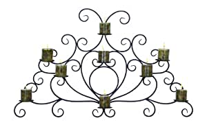 Benzara 63349 Unique Old Fashion Porte-bougie Applique murale