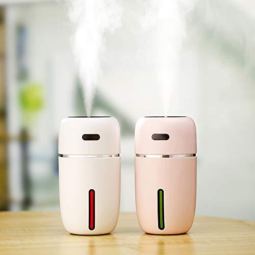 Luftbefeuchter Humidifier Heiß Spray Dampf Maschine Sprayer Diffuser Ultraschall Vernebler Raumbefeuchter Nano-Dämpfende Zerstäuber Instrument Luftreiniger Hause Büro Auto USB Nachtlicht Kapazität