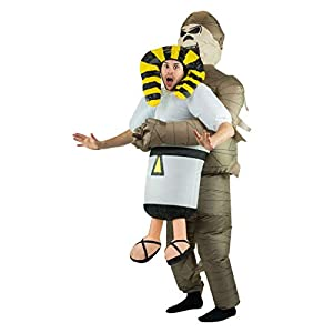 Bodysocks® Disfraz Hinchable de Momia Adulto