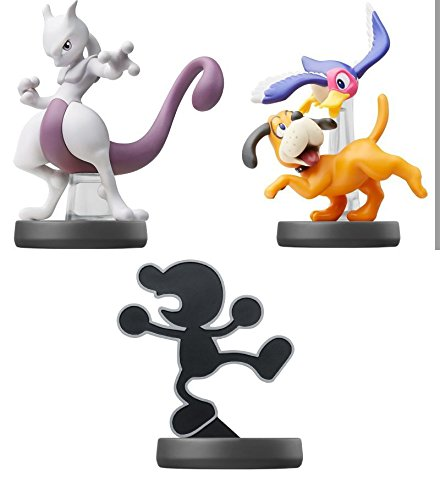 amiibo 【Mewtwo】【Duck Shoot】【Mr.Game&Watch】(3morceau mis)〔Super Smash Bros. Brawl Series〕pour Nintendo Wii U, Nintendo...