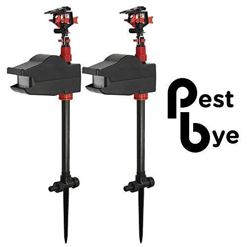 PestBye 2er Set Wasserstrahl-Tiervertreiber