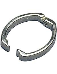Rayher Hobby 2229622  KettenVerschluss Clip, 25 x 20 mm, SB-Beutel 1 Stück, silber