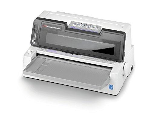 OKI ML6300FB-SC 24-Pin-Nadeldrucker (Flachbett, automatische Papierausrichtung) (Matrix Oki)