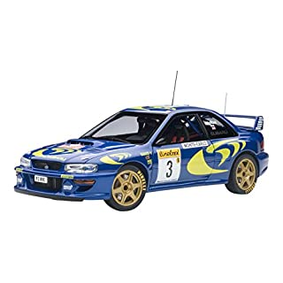 AUTOart–Metal Car Collectible, 89790, Blue/Yellow