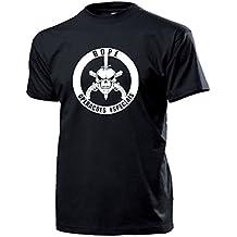 de BOPE Batalhão Operações Policiais Especiais del BATTAGLIONE per terreni polizia militare della polizia operazioni Stemma Logo Rio de Janeiro - T-Shirt #14489