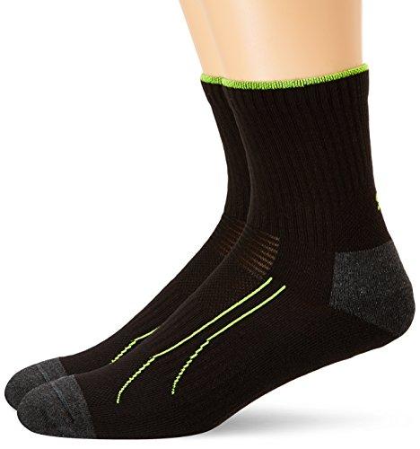 Puma Damen Socken PERFORMANCE TRAIN SHORT SOCK 2P, black, 39-42, 261010001 (Nike Performance Socken Gepolstert)