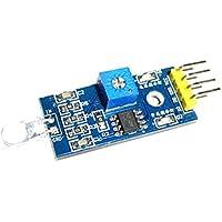 FLAMEER Sensor Fotoeléctrico De Resistencia del Sensor Sensor Fotoeléctrico Detección ...
