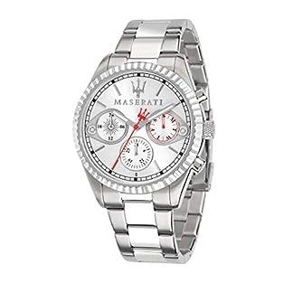 Reloj para Hombre, Colección Competizione, Movimiento de Cuarzo, multifunzione, en Acero – R8853100017