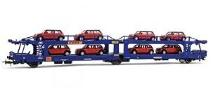 Electrotren-el6032-Modelismo ferroviario-Wagon Porte-Autos de Dos Niveles sifta-8Autos