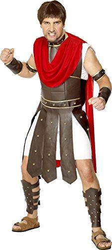 urio Kostüm, Umhang, Rüstungszubehör für Beine, Arme, Handgelenk und Hals, Größe: M, 29549 (Römische Kostüme Ideen)