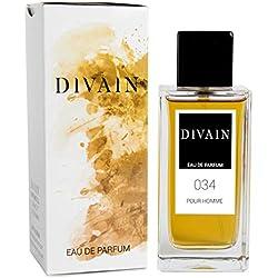 DIVAIN-034, Eau de Parfum pour homme, Spray 100 ml
