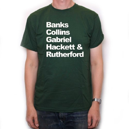 Banks Collins Gabriel Hackett & Rutherford T Shirt by Old Skool Hooligans