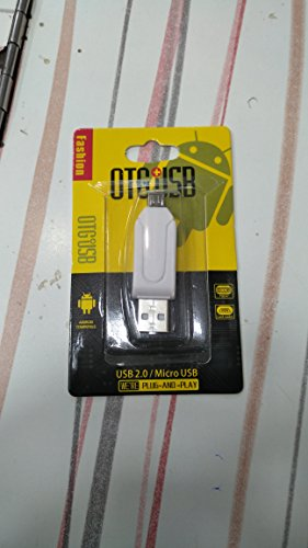 skyway Simply and Stylish USB 2.0 + Micro USB OTG Smart Card Reader Compatible with Lenovo Lenovo K900  available at amazon for Rs.149