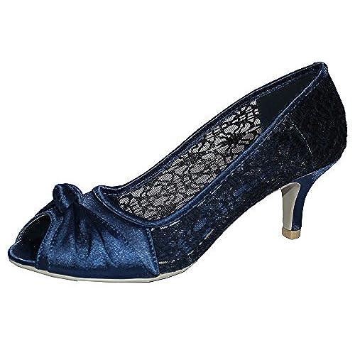 Navy blue wedding shoe amazon junglespirit Images