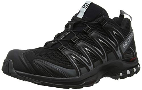Salomon Xa Pro 3D, Scarpe da Trail Running Uomo, Nero (Black/Magnet/Quiet Shade 000), 44 2/3 EU