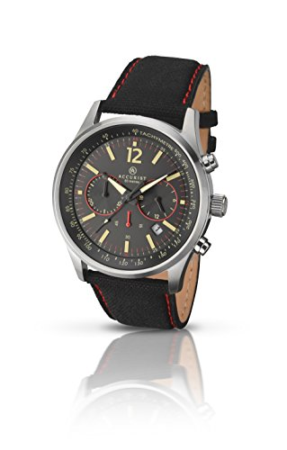 Accurist-Mens-Quartz-Watch-with-Black-Dial-Chronograph-Display-and-Black-Fabric-706801