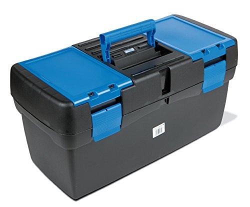 Tayg Werkzeugkoffer Basic 23 Zoll, 580 x 290 x 290 mm, schwarz / blau, 117558