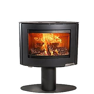 Aduro 15-4 6.5kW Black Contemporary Wood Burning Stove