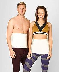 ®BeFit24 Elastischer Wärmegürtel Medizinische Qualität aus Angora & Merino Wolle für Damen und Herren - Nierengurt aus Baumwolle als Rückenwärmer, Nierenwärmer, und Nierenschutz - [ Size 2 ]