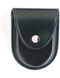 Gould & Goodrich B580 Round Bottom Handcuff Case Place On Belt Up To 2-1/4-Inch (Black) by Gould & Goodrich