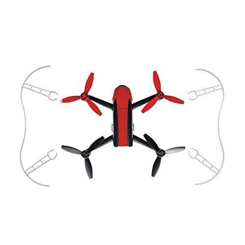 Wokee Propeller Schutzfolie für Parrot Bebop 2.0 Requisiten Stoßstange Easy Mount 2St (Weiß) -