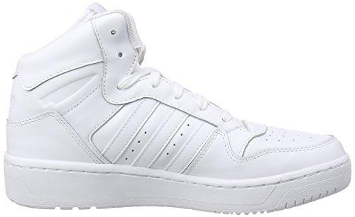 adidas Damen M Attitude Revive High-Top Weiß (Ftwr White/Ftwr White/Ftwr White)