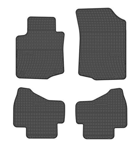 All4you Premium voiture en caoutchouc tapis de sol pour Citroen C1Peugeot 107Toyota Aygo (Bj. 2005-2014)