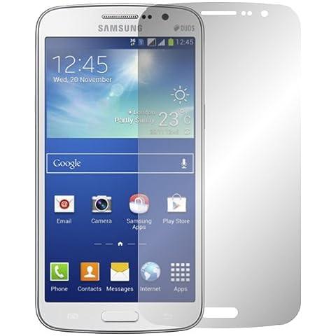 2 x Slabo protector de pantalla Samsung Galaxy Grand 2 Duos lámina protectora de pantalla lámina