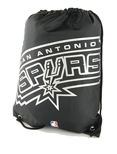 NBA San Antonio Spurs Turnbeutel Schwarz