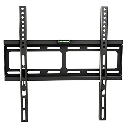 "RICOO TV Wandhalterung Universal F0244 Flach Ultra Slim Fernsehhalterung Halterung LCD Wandhalter LED Flachbildschirm Bildschirmdiagonale 66cm/26""- 140cm/55"" Zoll / VESA 200x200 400x400"
