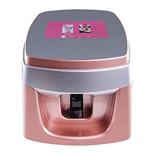 Impresora de uñas digital profesional portátil 3D inteligente móvil máquina de pintura de uñas rápida con 7 pantallas táctiles soporte WiFi/DIY/USB