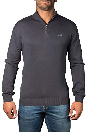 aa91c62d4bfa Versace 19.69 Abbigliamento Sportivo SRL Milano Italia - Jerséi - para  Hombre Gris Oscuro X-