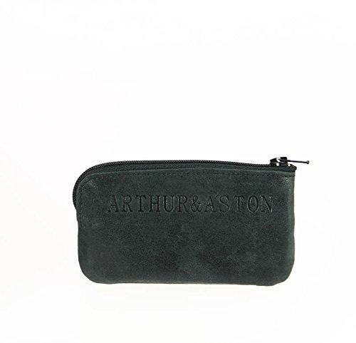 Arthur&Aston, Borsa a secchiello donna nero nero 12.0 (L) X 6.0 (H) x 0.3(E) cm