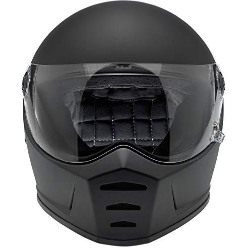Biltwell Lane divisor sólido Full-Face-Casco de Moto soporte de negro