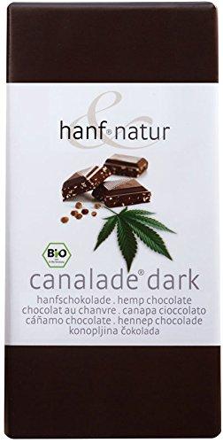 *Canalade dark Hanf Schokolade*
