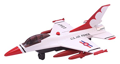 Alicia Centy Toys F-16 Fire Blade CT-138 Pull Back Toy, Color May Vary