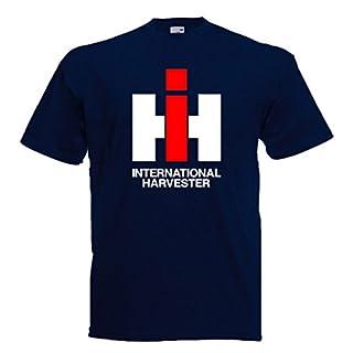 Kinder T-Shirt IHC | Navyblau | Größe 152