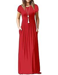 Yesmile Vestido de Mujer Vestido Corto Partido Vestido Elegante de Noche para