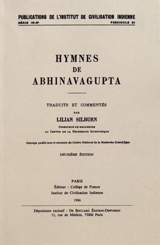 Hymnes de Abhinavagupta