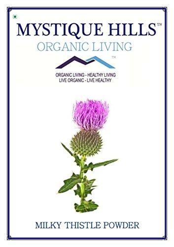 Mystique Hills Organic Milk Thistle Powder (Carduus marianus) Premium Quality 50 g