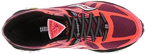 Saucony Xodus 5.0 Vizicoral / Berry Chaussures De Course