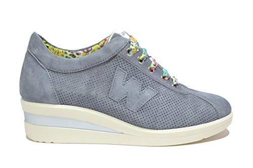 Melluso Sneakers zeppa jeans scarpe donna Walk R2179 40
